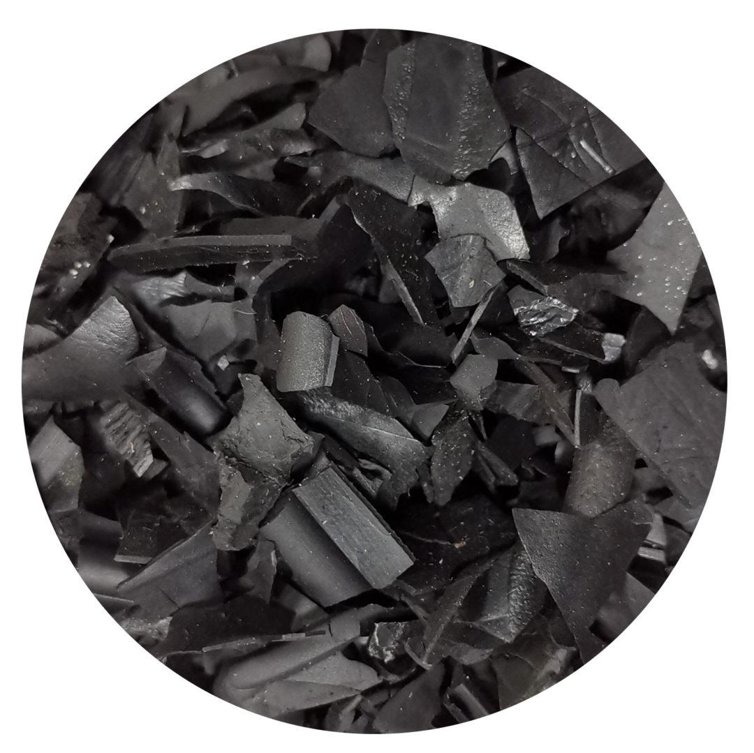 corteccia di colore nero risalto aiuole