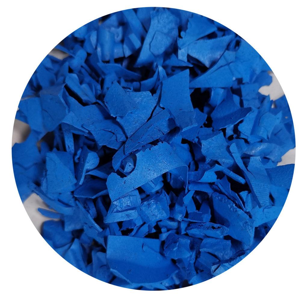 idee Corteccia in gomma blu per aiuole giardino