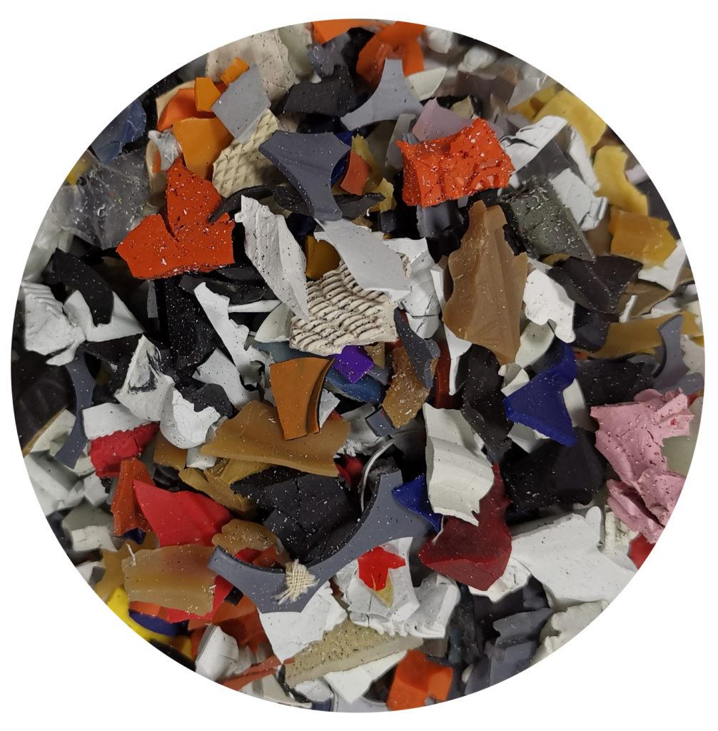 Corteccia colore mix per ornamento aiuole e giardini