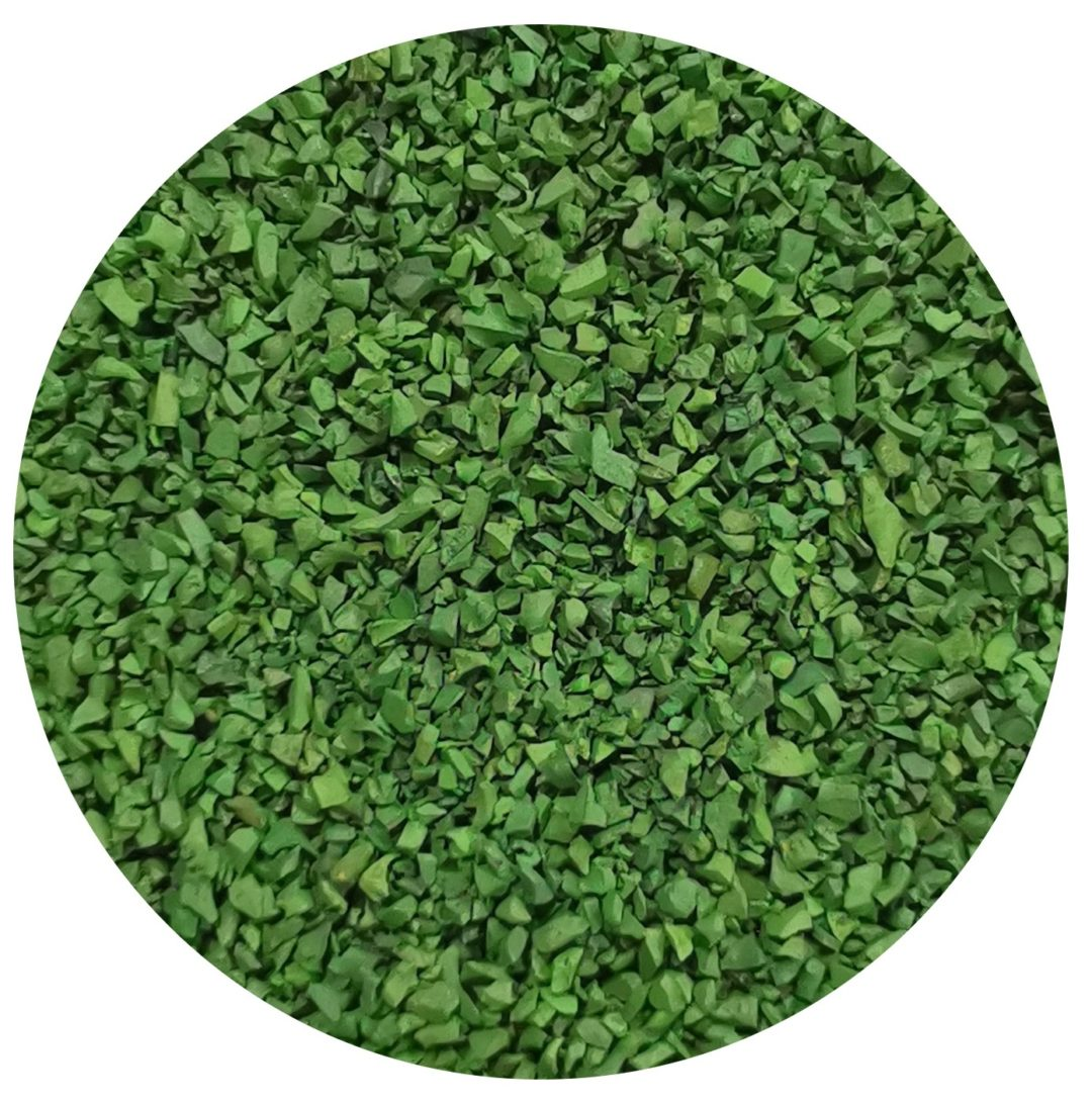 granulo ricarica verde erba sintetica usurata