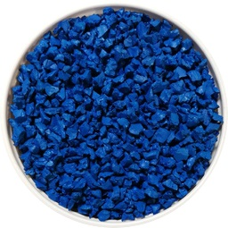 PLAY BLUE gomma blu per posa in opera colati