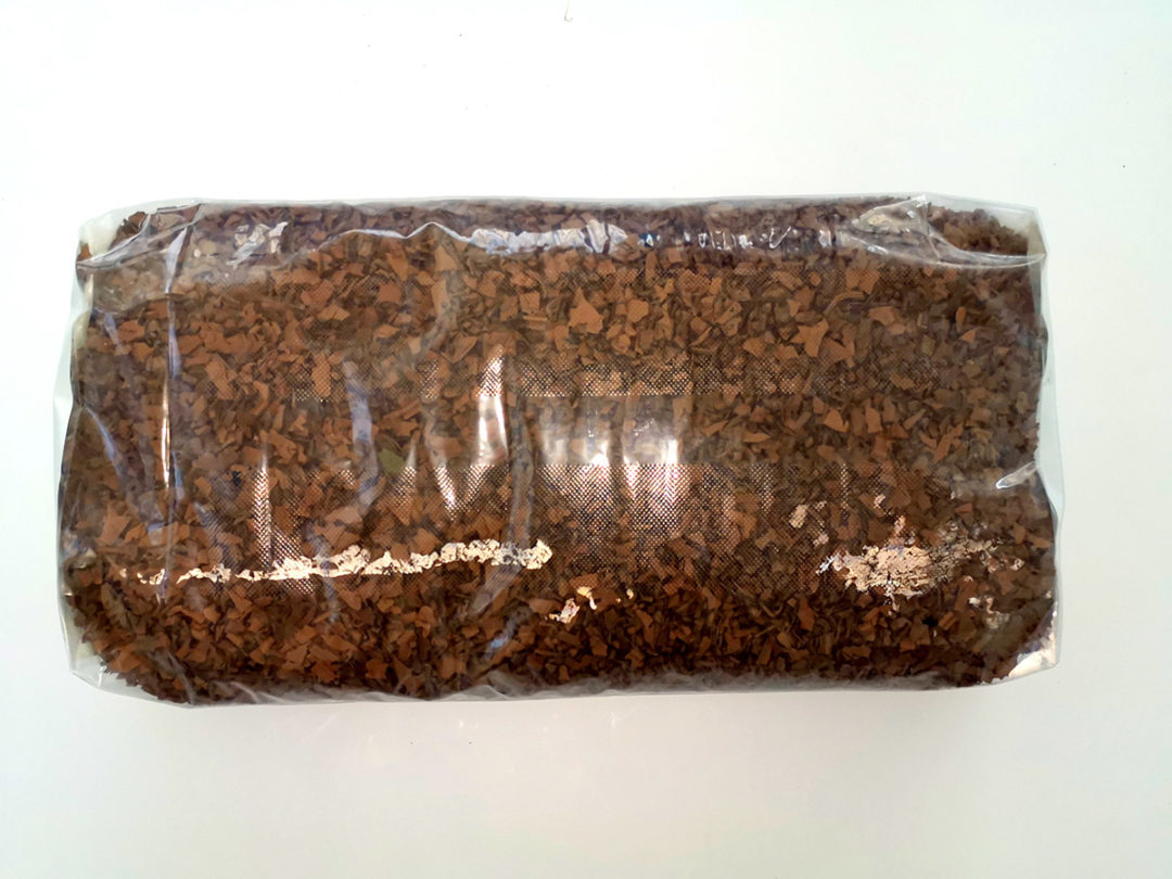 corteccia di gomma sintetica marrone sacco 25 kg