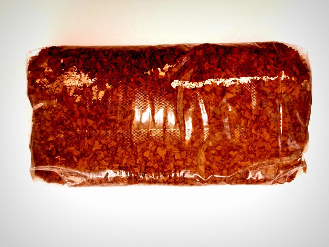 corteccia di gomma sintetica rossa sacco 25 kg