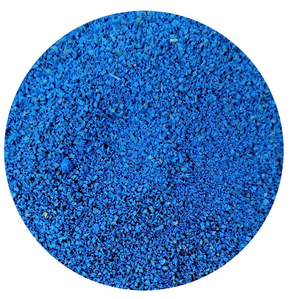 Gomma blue per intaso erba sintetica tennis