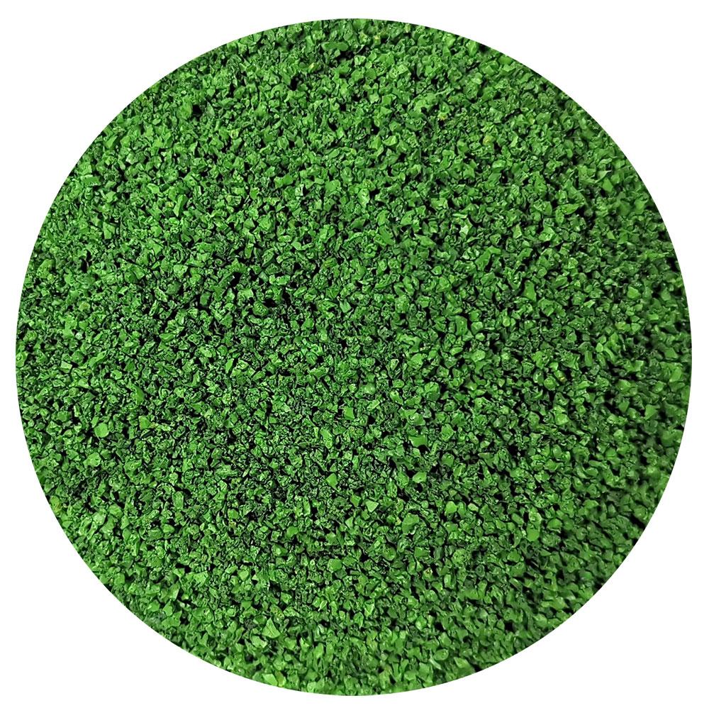 Gomma verde per intaso erba sintetica tennis