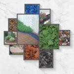 aiuole giardino | idee decorazione corteccia sintetica