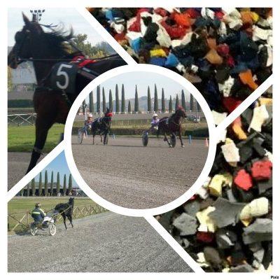 HORSE TRACK la gomma per equitazione